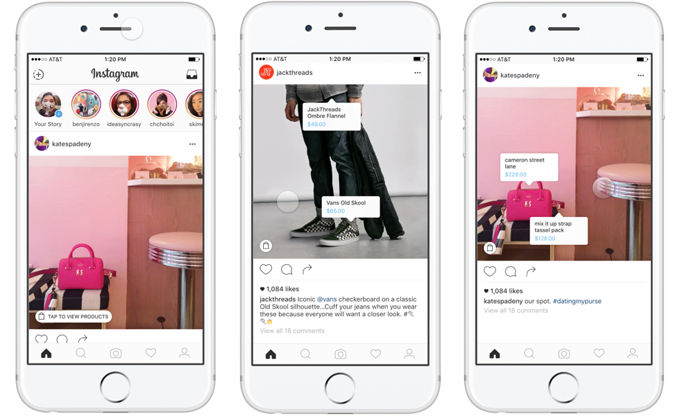 Instagram Shopping: venda direto do Instagram