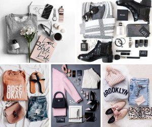 Fotos em flat lay para e-commerce