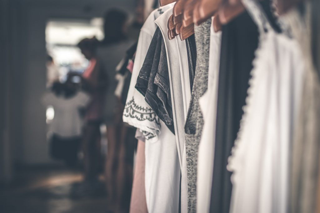 venda de roupas usadas